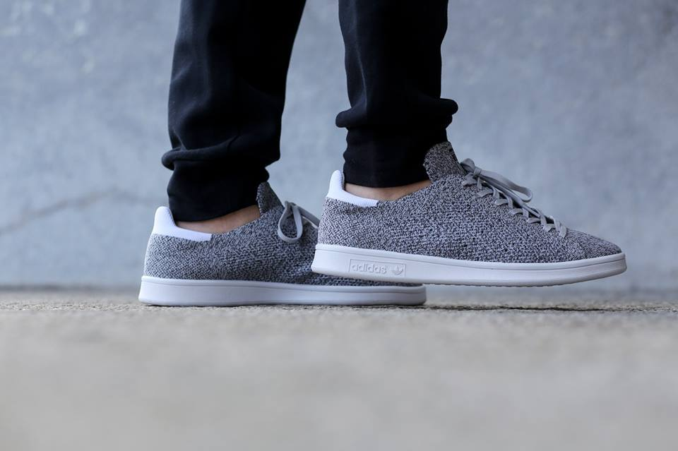 Adidas Stan Smith Primeknit Light Grey
